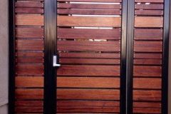 wooden pedestrian gate with panels-11