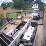 CCTV Image From A Residential Driveway CCTV Installation