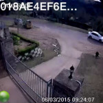 CCTV View Of A Residential Driveway