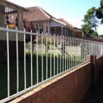 Palisade Fencing Installation