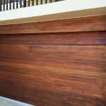 Roll Up Wooden Garage Door
