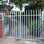 Palisade Swing Gates