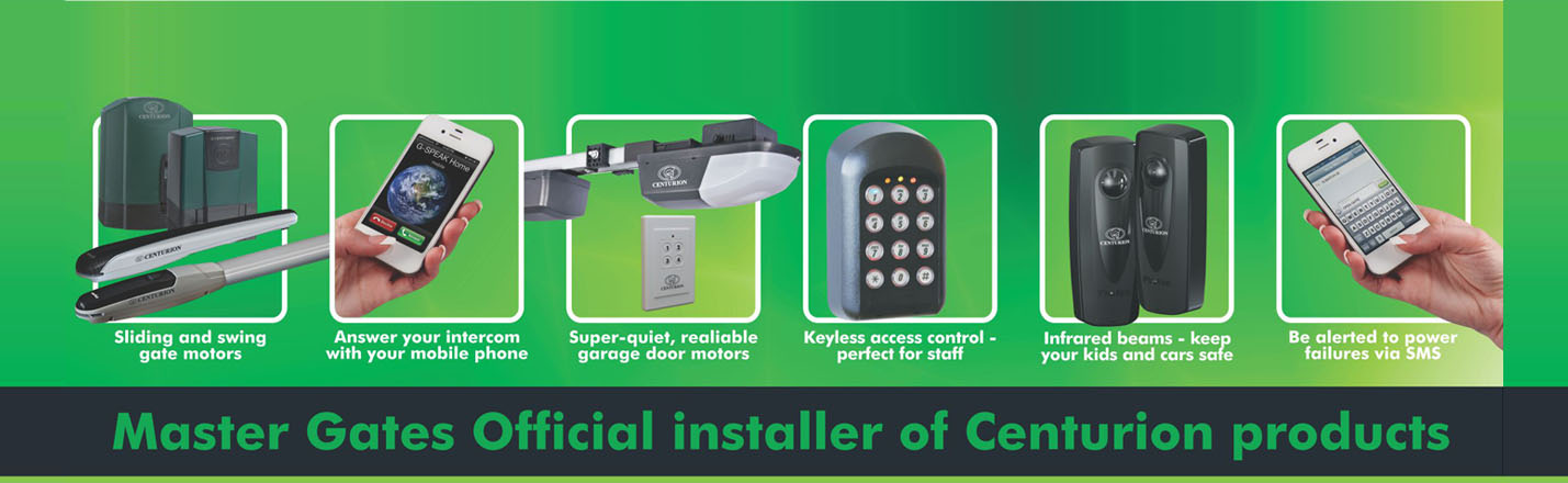 Master Gates Official Installer Of Centurion Products