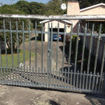Steel Palisade Swing Gates