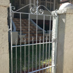 Steel Pedestrian Swing Gate With Customised Design