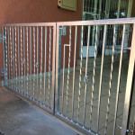 Steel Swing Gates With A Customised Design