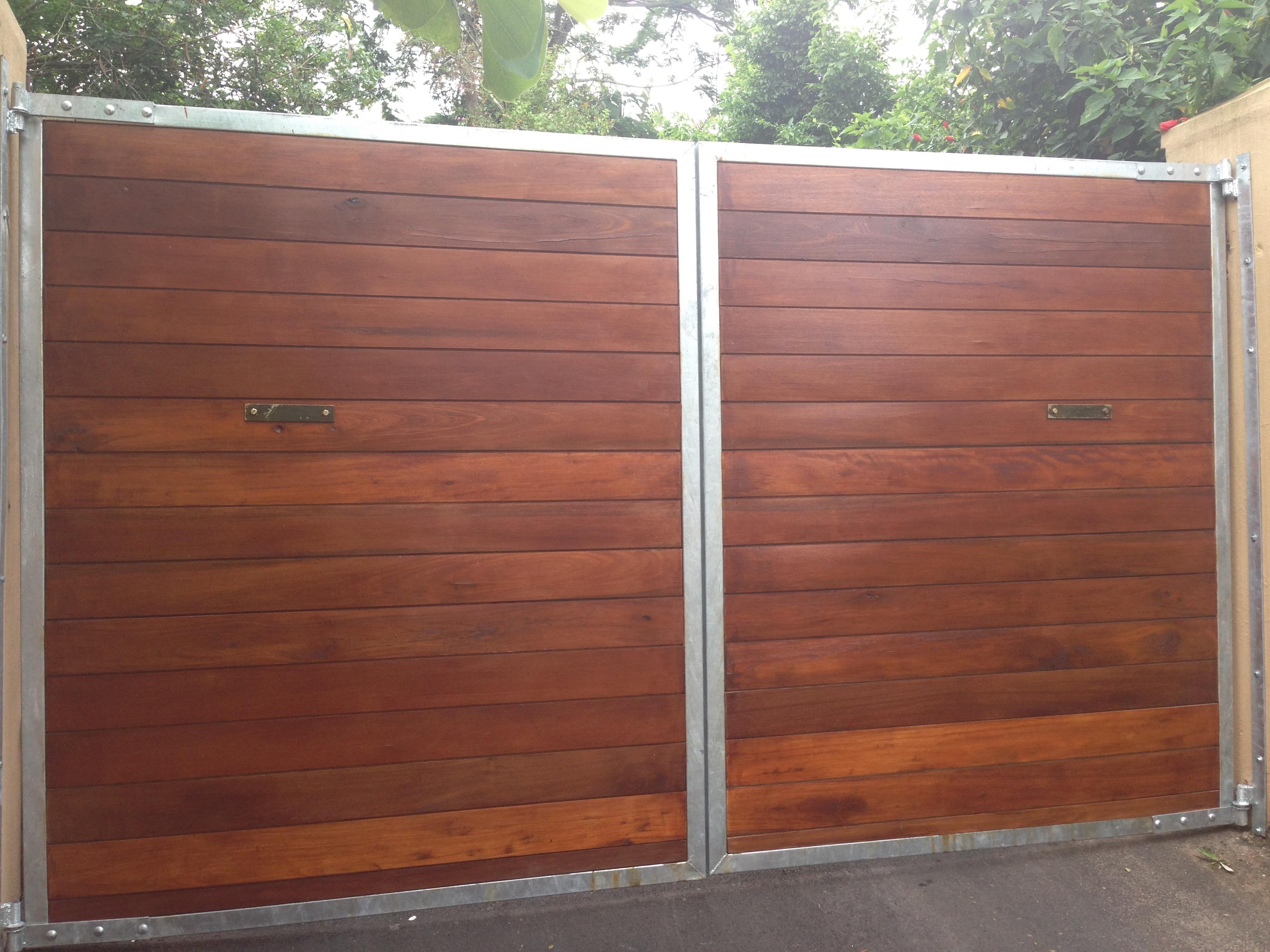 Wooden Swing Gates Master Gates Durban
