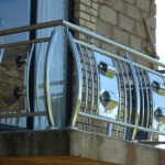 Steel Balcony Bannister With Customised Design