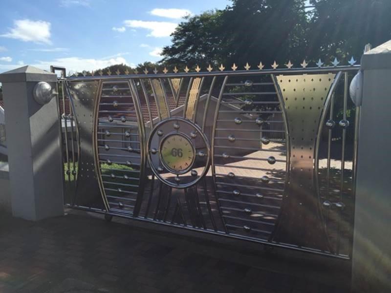 Stainless steel gates master durban