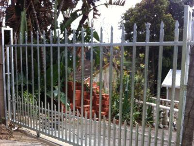 Steel Sliding Gate Installation