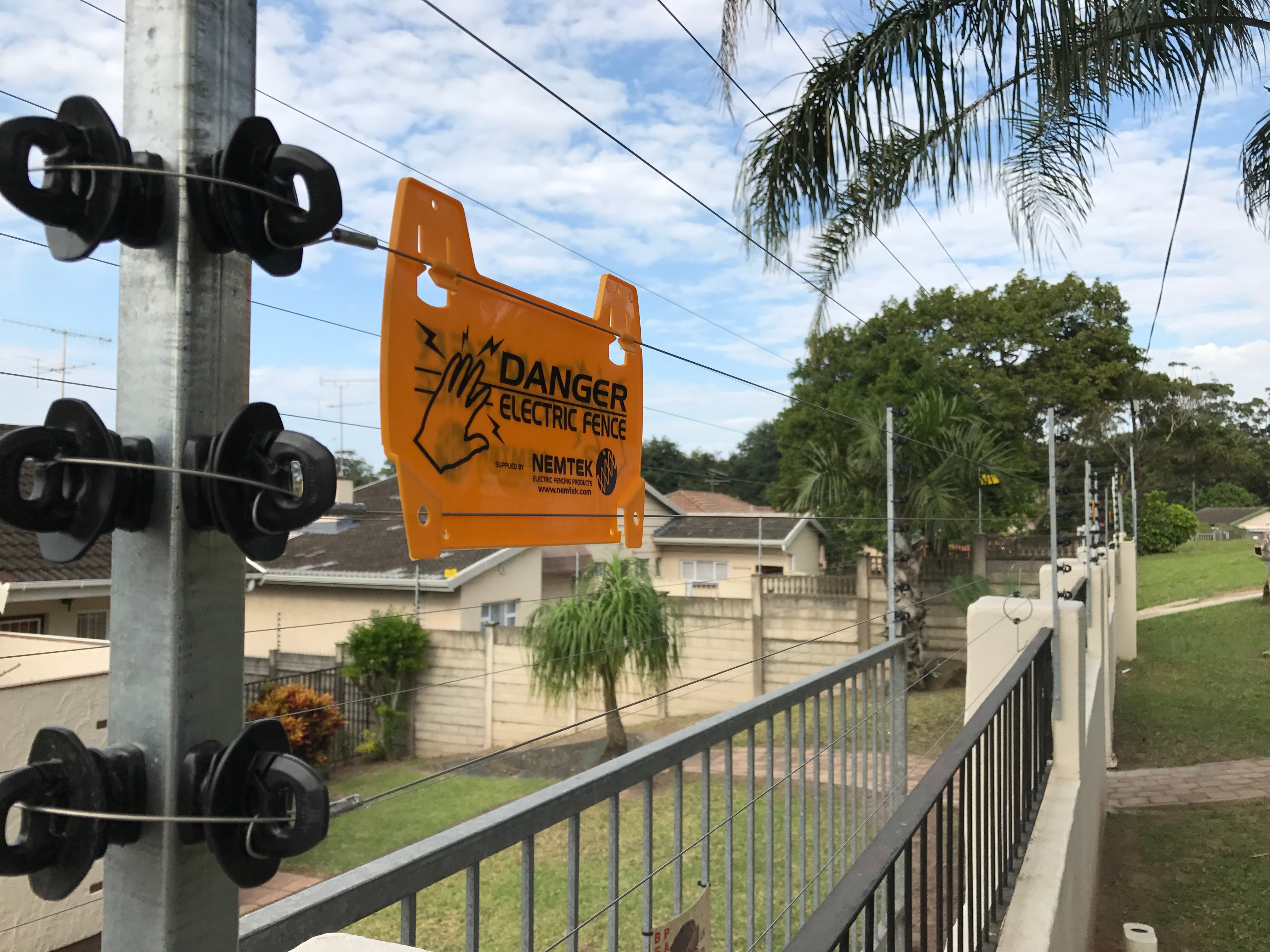 Electric Fencing Installed In Durban Master Gates Durban
