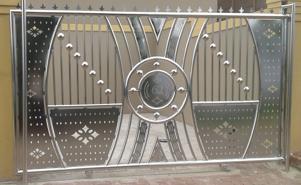 Stainless steel gate Kokstad