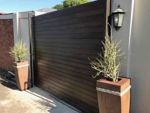 Meranti wooden gates, wooden sliding gates